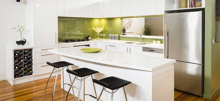 Green Splashback