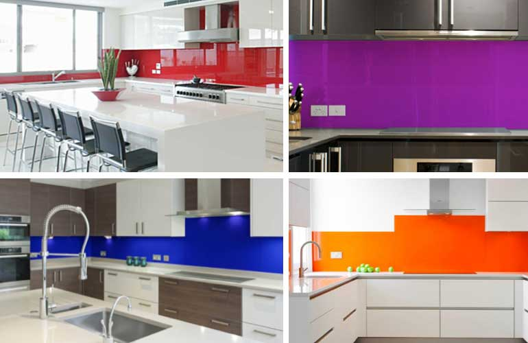 Bright Splashbacks