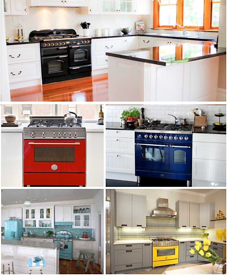 Coloured Ovens
