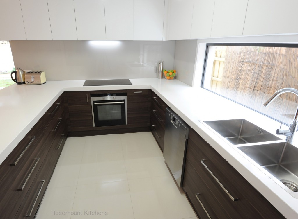 Kitchen Layouts - Melbourne - Rosemount Kitchens on v shaped kitchen sink, u shaped copper sink, u shaped bathroom vanity, u shaped contemporary kitchens,