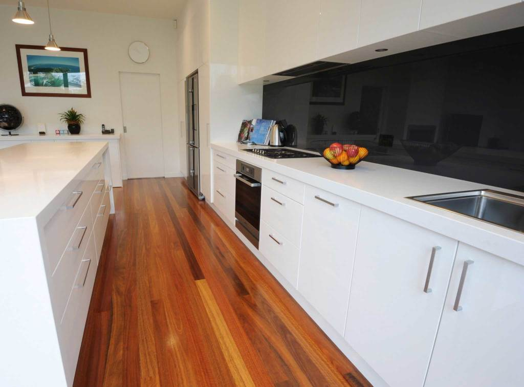 Galley style kitchen layout in Sandringham Melbourne