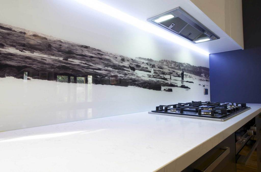 image of a superb contemporary kitchen splashback in Melbourne