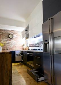 Storage in a Northcote Kitchen Renovation