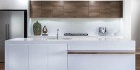 Australian-made polytec createc white doors