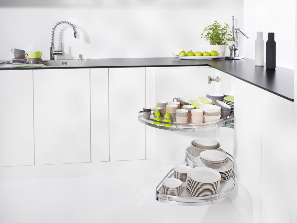 LeMans 2 Kessebohmer - corner solutions - Rosemount Kitchens