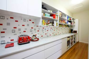Ample Kitchen Storage