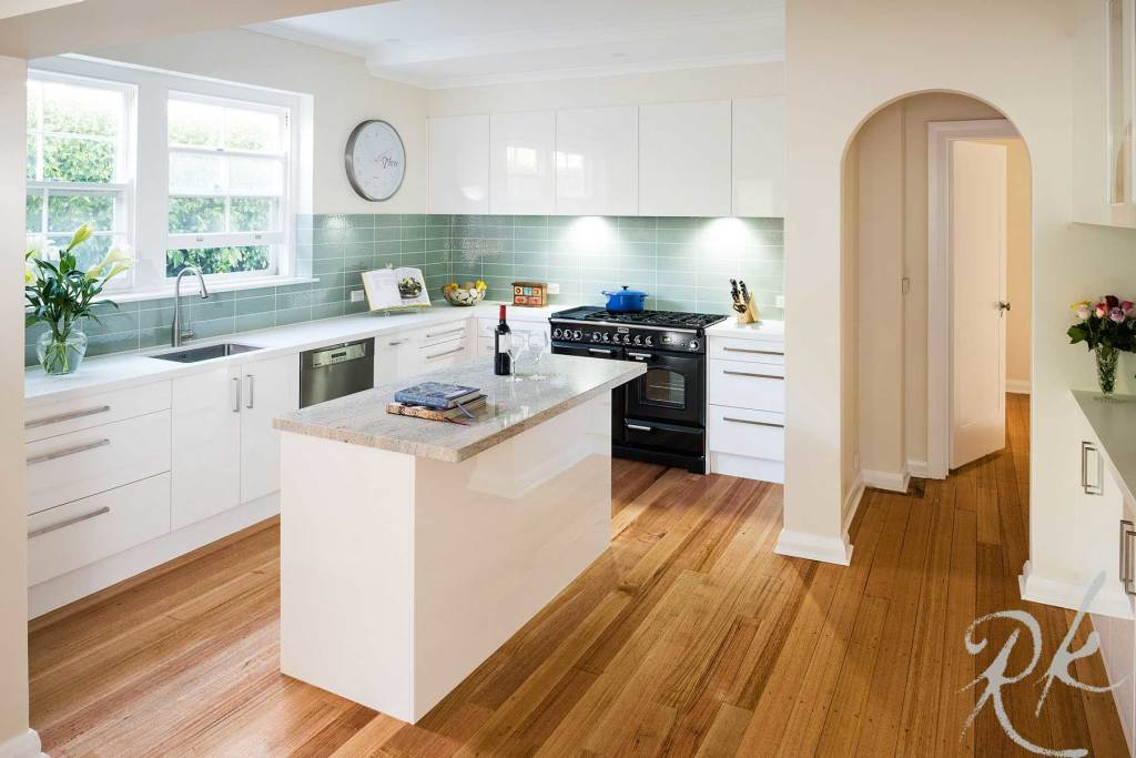 An image of a classic kitchen in Melbourne