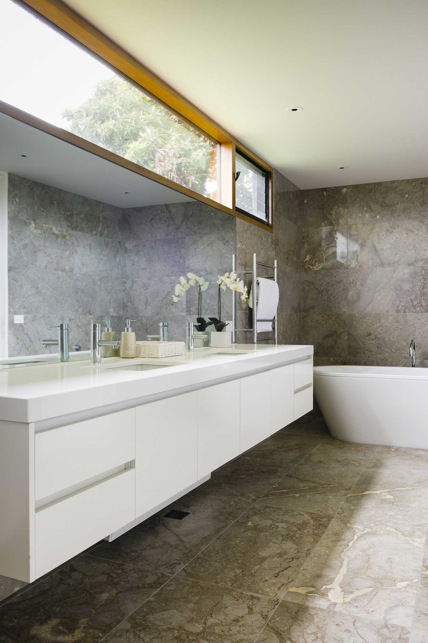 Modern Bathroom Renovation Sorrento
