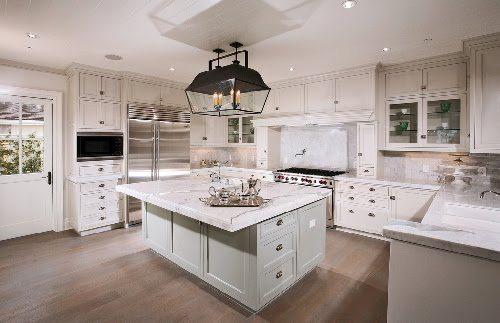 Get Classy Coastal Look with Hampton Style Kitchen Designs   -> Kuchnia New Hampton