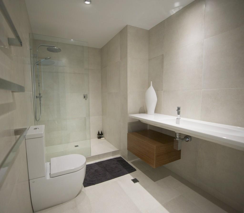 Modern Minimalist Bathroom Renovation