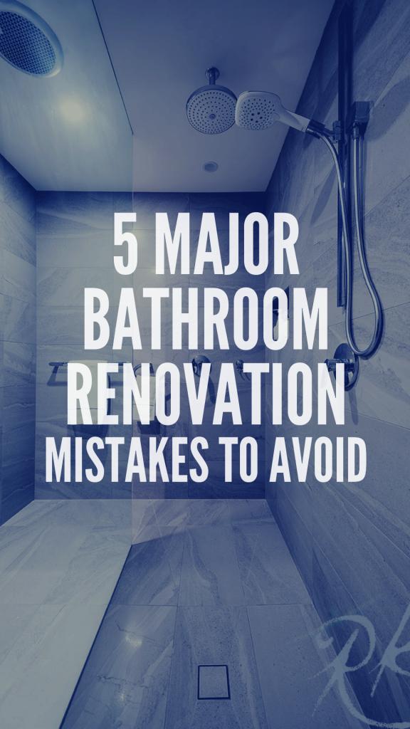 bathroom mistakes to avoid