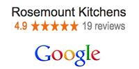 Google Reviews for Rosemount Kitchens in Melbourne