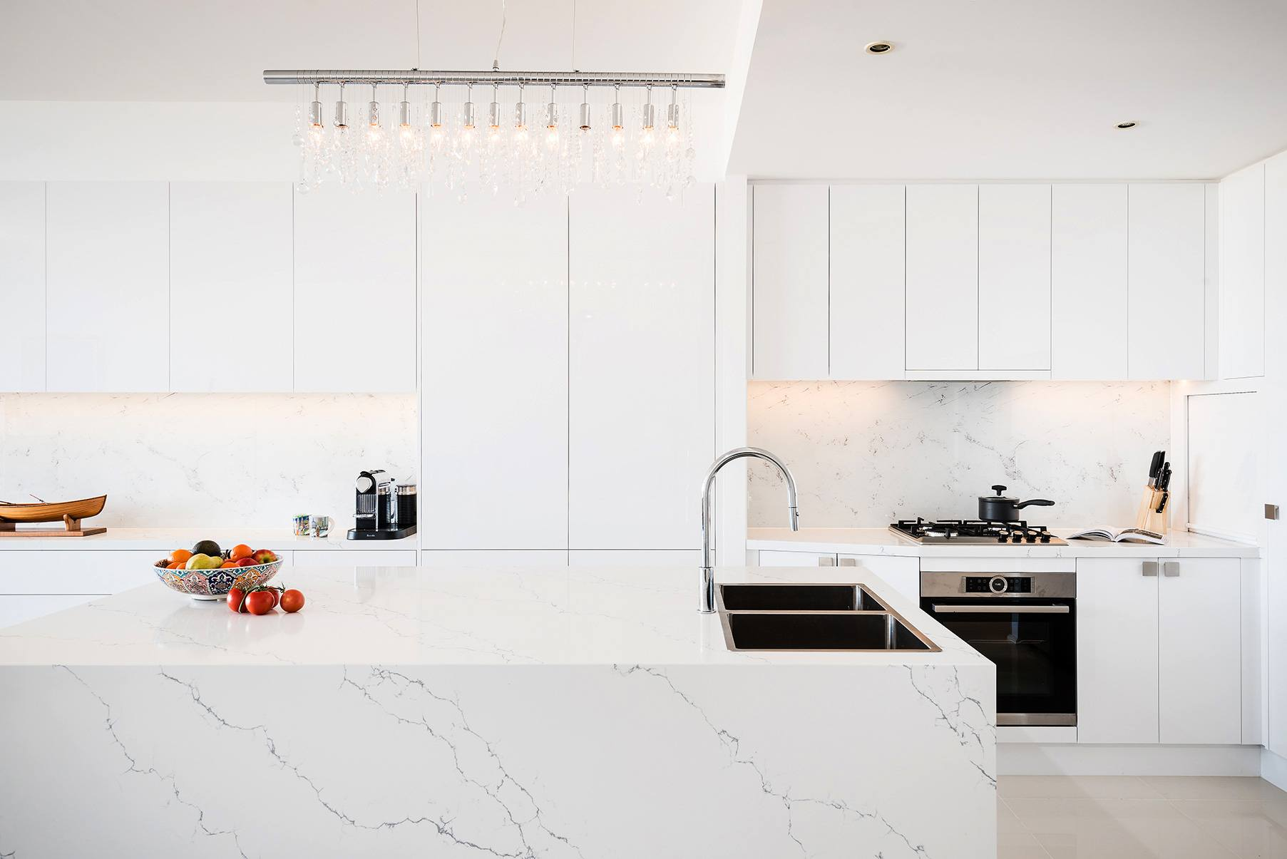 port melbourne apartment kitchen