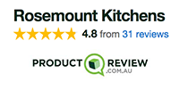 Product Review reviews for Rosemount Kitchens in Melbourne