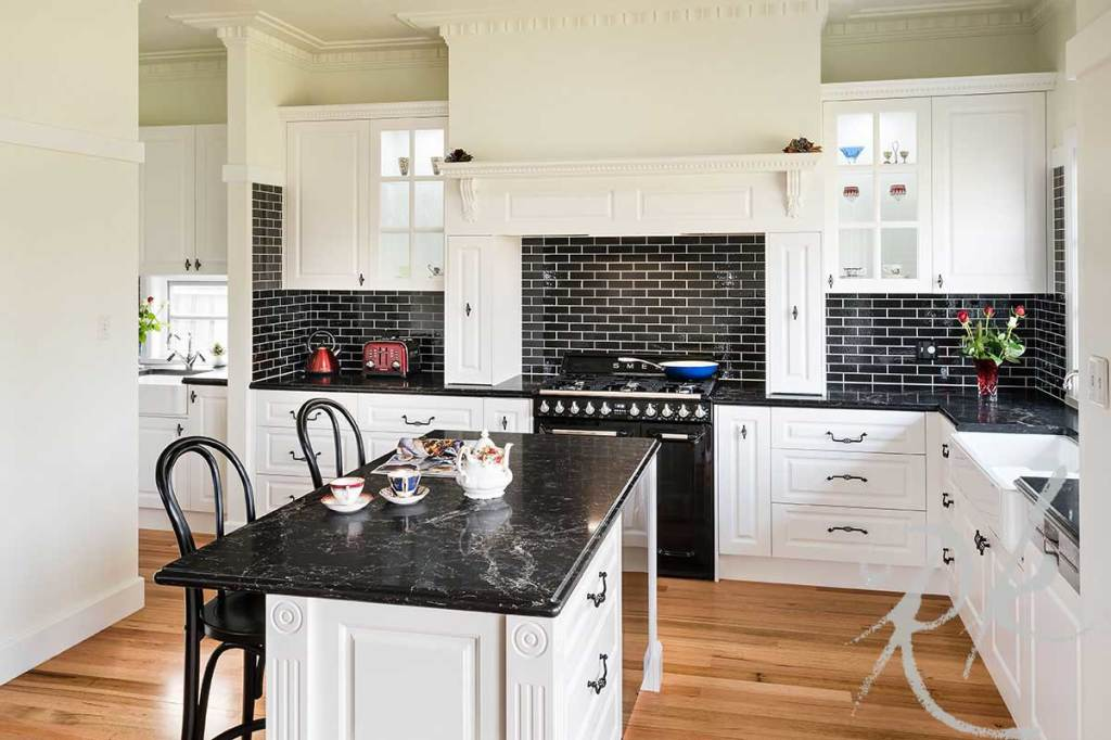 French Provincial Kitchen Renovation in Parkdale Melbourne
