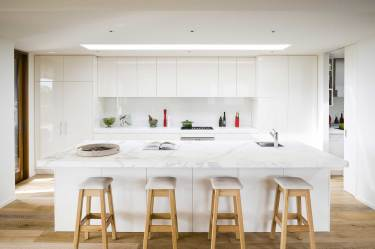 Image of a beautiful kitchen created by our kitchen designers