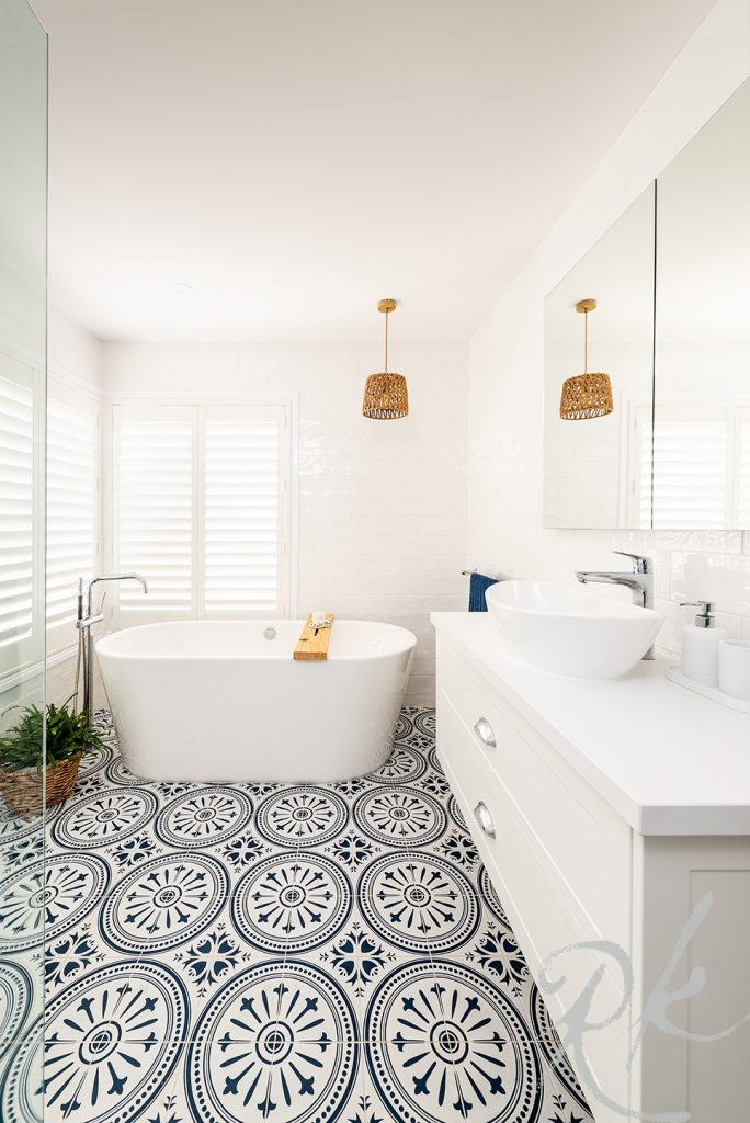 Beautiful bathroom renovation in Werribee