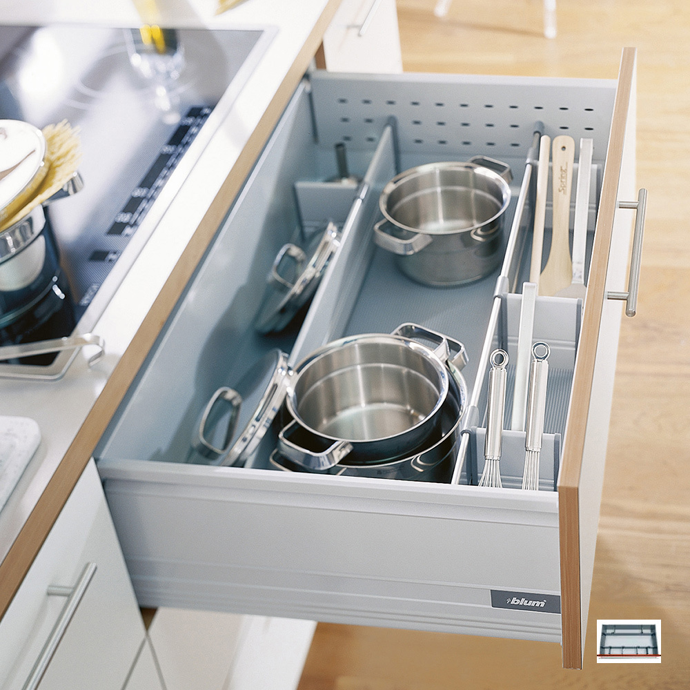 A deep drawer from Blum.