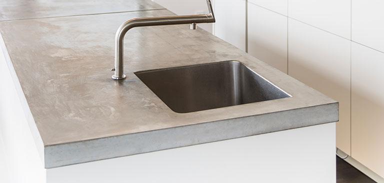 Concrete benchtop image