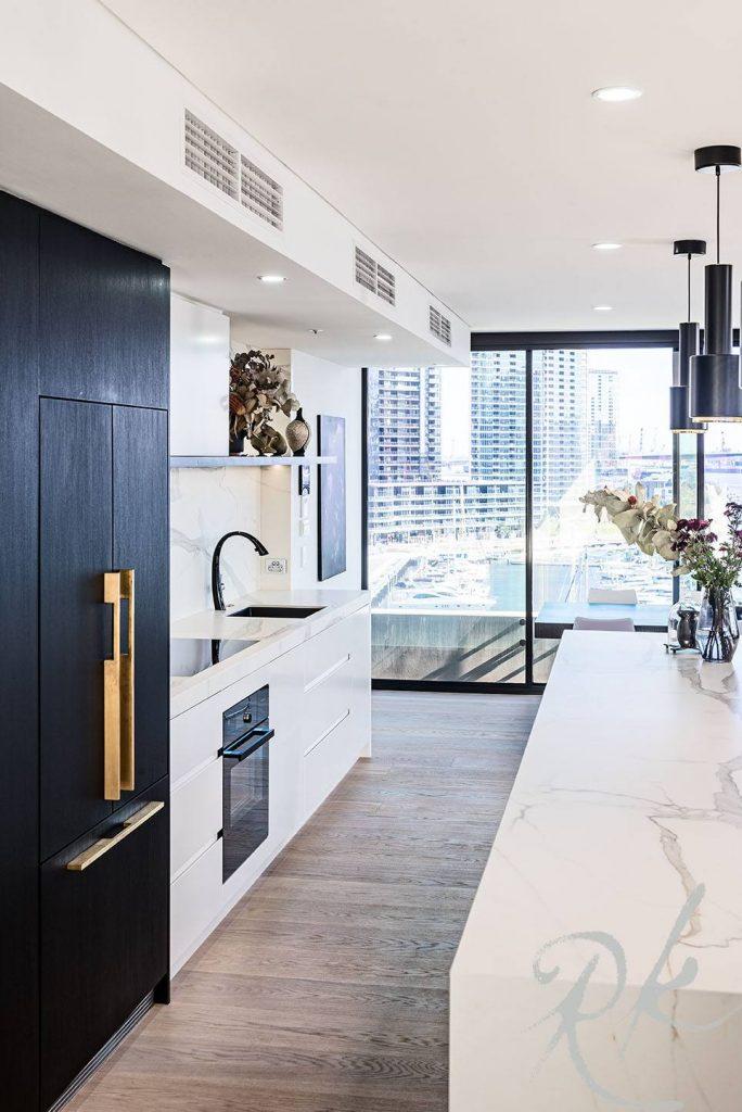 Docklands kitchen design