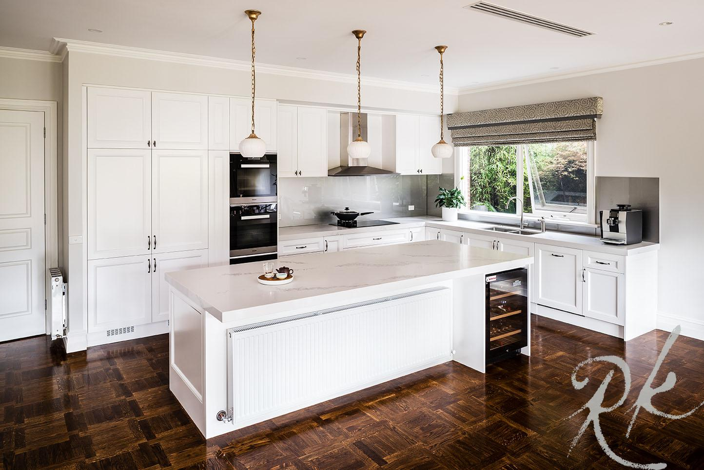 Beautiful kitchen designer inspired kitchen in Melbourne's Hawthorn East