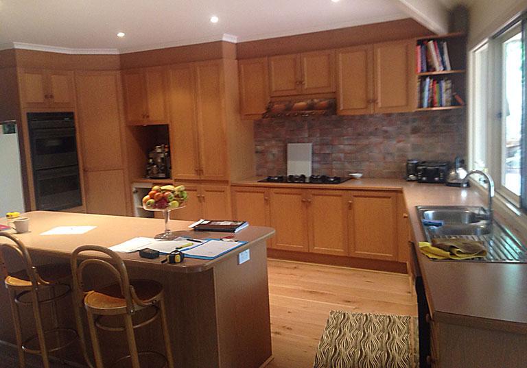 kitchen Warrandyte before
