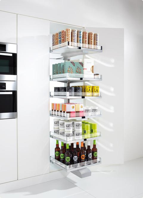 A pull-out CONVOY cabinet from Hafele.