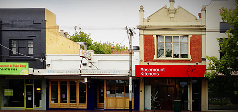 Rosemount's kitchen showroom in Malvern East, Melbourne