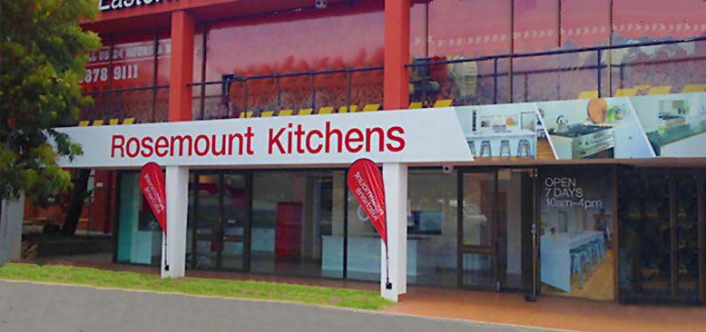 Rosemount's kitchen showroom in Nunawading, Melbourne