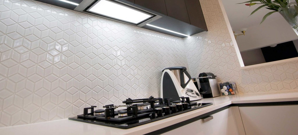 Gorgeous tile splashback