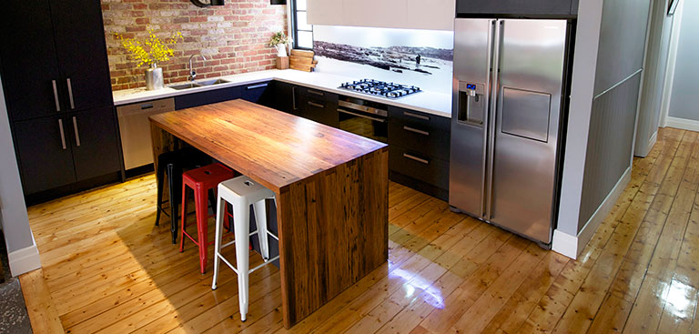 Timber Island Kitchen Bench image